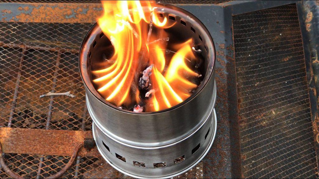 Easy Wood Burning Campstove